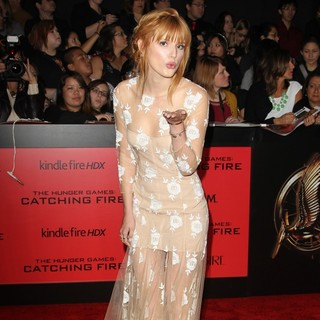 The Hunger Games: Catching Fire Premiere - bella-thorne-premiere-the-hunger-games-catching-fire-05