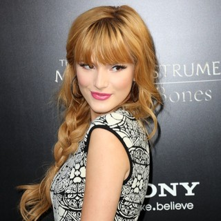Bella Thorne in Premiere of Screen Gems and Constantin Films' The Mortal Instruments: City of Bones