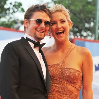 Matthew Bellamy, Kate Hudson in The 69th Venice Film Festival - The Reluctant Fundamentalist - Premiere - Red Carpet