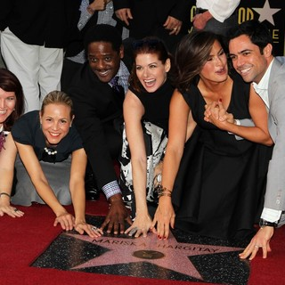Blair Underwood in Mariska Hargitay Honored on The Hollywood Walk of Fame - bello-flannery-underwood-messing-hargitay-pino-mariska-hargitay-walk-of-fame-02