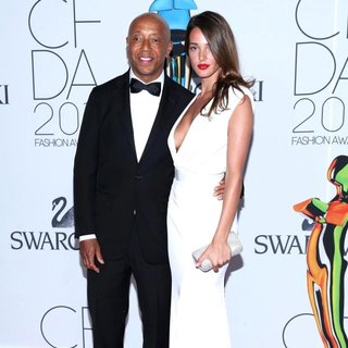 Russell Simmons, Angela Bellotte in The 2011 CFDA Fashion Awards