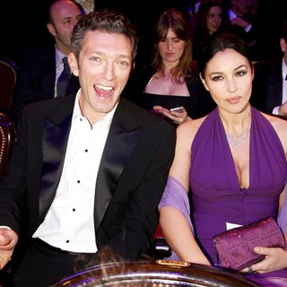 Vincent Cassel, Monica Bellucci in The 34th Cesar Film Awards 2009