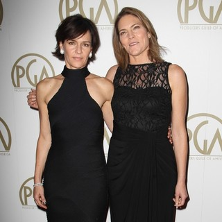 Kristine Belson, Jane Hartwell in The 25th Annual Producer Guild of America Awards - Arrivals
