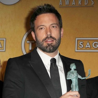 Ben Affleck in 19th Annual Screen Actors Guild Awards - Press Room