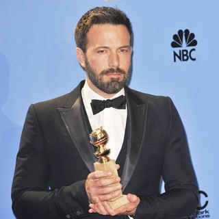 Ben Affleck in 70th Annual Golden Globe Awards - Press Room