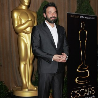 Ben Affleck in 85th Academy Awards Nominees Luncheon