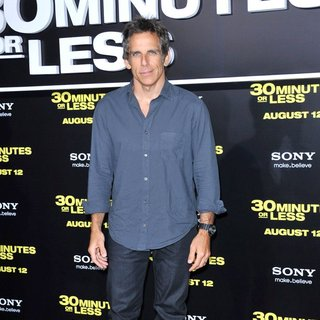 Ben Stiller in Los Angeles Premiere of 30 Minutes or Less