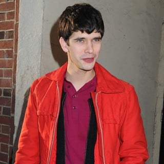 Ben Whishaw in Ben Whishaw Leaving The Lucille Lortel Theatre After Performing in Off-Broadway Play The Pride