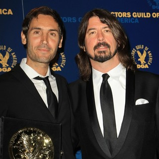 Malik Bendjelloul, Dave Grohl in 65th Annual Directors Guild of America Awards - Press Room