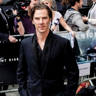 Benedict Cumberbatch in The European Premiere of The Dark Knight Rises - Arrivals