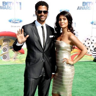 Eric Benet, Manuela Testolini in BET Awards 2011