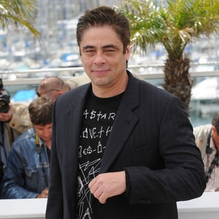 Benicio Del Toro in 2010 Cannes International Film Festival - Day 1 - Jury Photocall