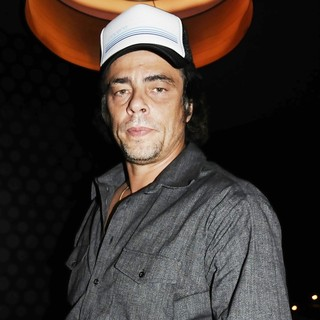 Benicio Del Toro in Paris Fashion Week Spring-Summer 2012 Ready to Wear - Givenchy Aftershow Party