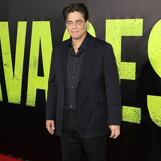Benicio Del Toro in The Premiere of Savages