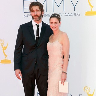 David Benioff, Amanda Peet in 64th Annual Primetime Emmy Awards - Arrivals
