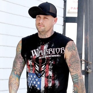 Benji Madden in Benji Madden Walking in Beverly Hills