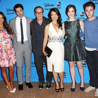 Chloe Bennet, Brett Dalton, Clark Gregg, Ming-Na, Elizabeth Henstridge, Iain De Caestecker in Disney and ABC TCA Summer Press Tour - Arrivals