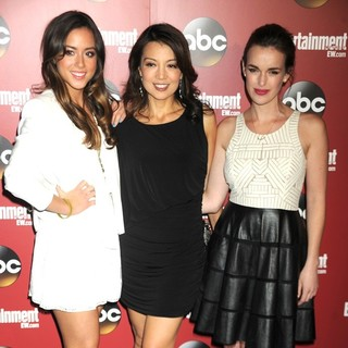 Chloe Bennet, Ming-Na, Elizabeth Henstridge in Entertainment Weekly and ABC - TV Upfronts Party - Arrivals