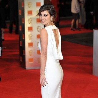 Berenice Marlohe in Orange British Academy Film Awards 2012 - Arrivals - berenice-marlohe-orange-british-academy-film-awards-2012-03