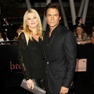 Sheryl Berkoff, Rob Lowe in The Twilight Saga's Breaking Dawn Part I World Premiere