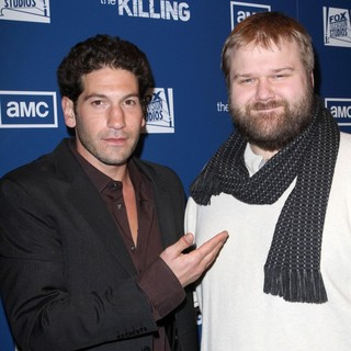 Jon Bernthal in Premiere of AMC's Series The Killing - bernthal-kirkman-premiere-the-killing-01