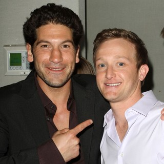 Jon Bernthal in Premiere of AMC's Series The Killing - bernthal-ladin-premiere-the-killing-01