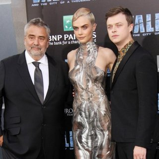 Luc Besson, Cara Delevingne, Dane DeHaan-Valerian and the City of a Thousand Planets Premiere