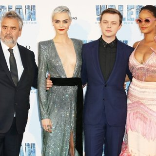 Luc Besson, Cara Delevingne, Dane DeHaan, Rihanna-Paris Premiere of Valerian and the City of a Thousand Planets - Arrivals