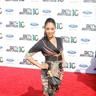 Tamera Mowry in 2010 BET Awards