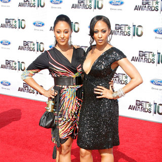 Tamera Mowry, Tia Mowry in 2010 BET Awards