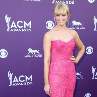 Beth Behrs in 48th Annual ACM Awards - Arrivals