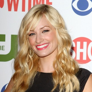 Beth Behrs in CBS, The CW And Showtime TCA Party