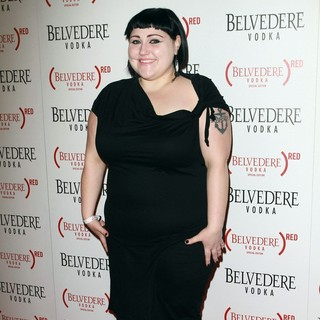 Beth Ditto, Gossip in Belvedere Vodka Launch Party for Special Edition Bottle