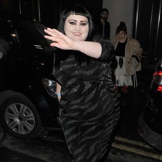 Beth Ditto, Gossip in London Fashion Week A-W 2011: Julian J Smith - Departures