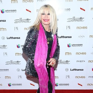 Betsey Johnson in New York Moves Magazine's 10th Anniversary Power Women Gala