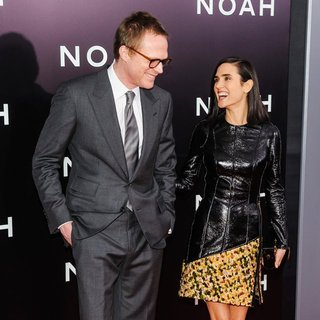 Paul Bettany, Jennifer Connelly in Noah New York Premiere