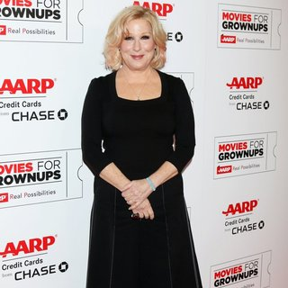 Bette Midler in AARP's 15th Annual Movies for GrownUps Awards - Arrivals