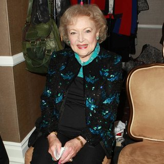 Betty White in The 40th Annual Daytime Emmy Awards Sponsored by CIROC Vodka - Backstage and Inside