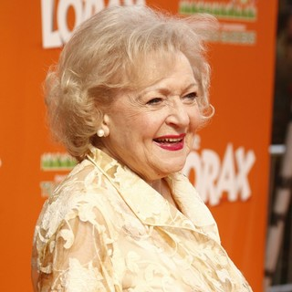 Betty White in The Premiere of The Lorax - Arrivals