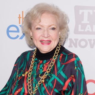 Betty White in TV Land Holiday Premiere Party for Hot in Cleveland & The Exes