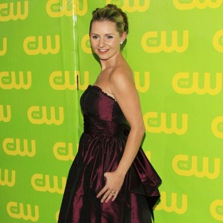 Beverley Mitchell in CW Winter Press Tour Party