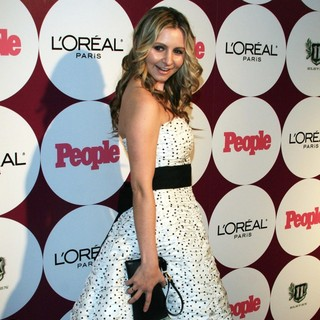 Beverley Mitchell in People Magazine Post Grammy Party - Arrivals