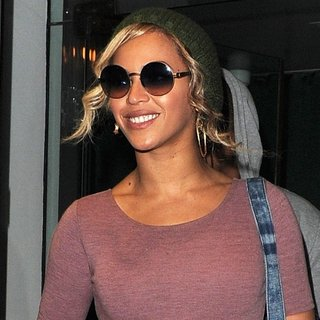 Beyonce Knowles - Beyonce and Jay-Z Seen Leaving Cecconi's Restaurant