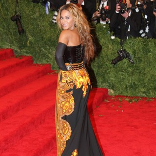 Beyonce Knowles in PUNK: Chaos to Couture Costume Institute Gala