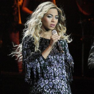 Beyonce Knowles in Beyonce Performs Live in Concert During The Mrs. Carter Show World Tour