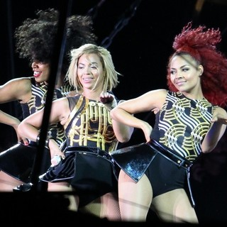Beyonce Knowles - V Festival 2013 - Day One