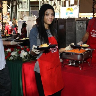 Bianca Lawson in Children Foundation for Christmas Celebration