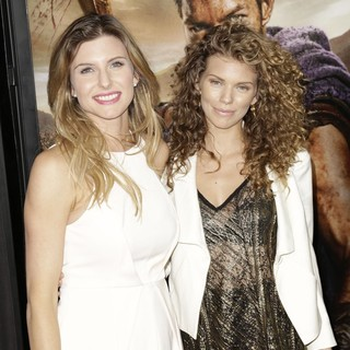 Viva Bianca, AnnaLynne McCord in U.S. Premiere Screening of Spartacus: War of the Damned
