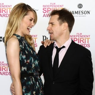 Leslie Bibb in 2013 Film Independent Spirit Awards - Arrivals - bibb-rockwell-2013-film-independent-spirit-awards-03