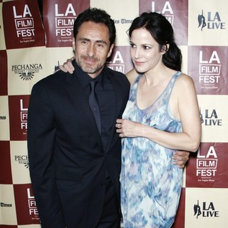 Demian Bichir, Mary-Louise Parker in A Better Life World Premiere Gala Screening During The 2011 Los Angeles Film Festival
